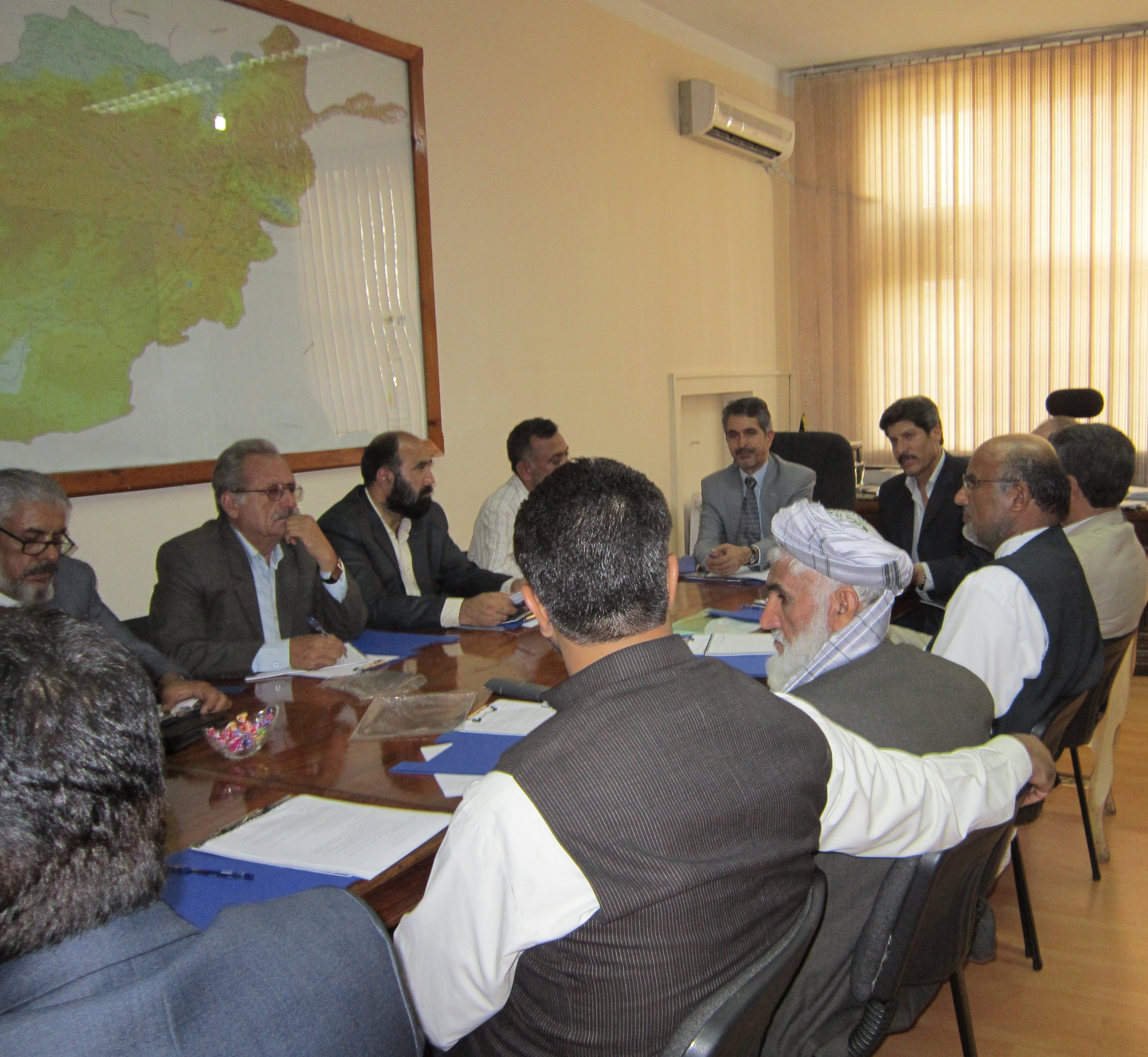 Public Private Dialogue forum meeting at the Afghan Ministry of Public Health, NextBillion Health Care