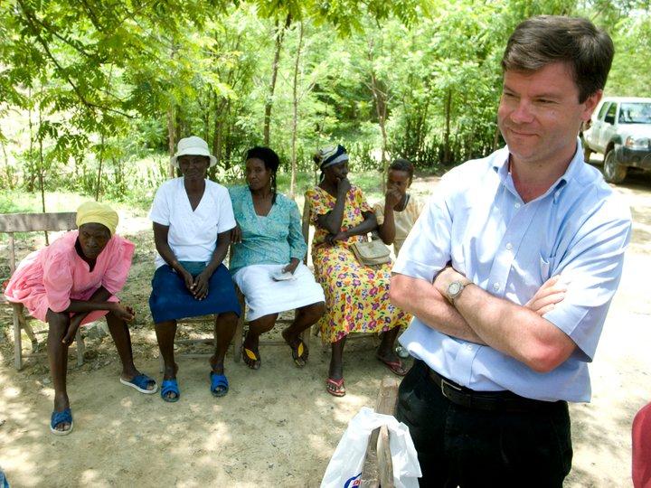Alex Counts in Haiti