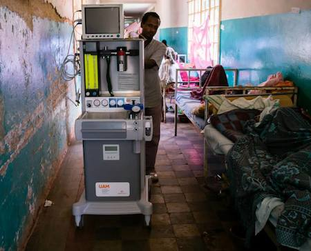 An Essential for Essential Surgery: Low-resource optimized anesthesia machines needed to help fill global need