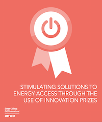 NexThought Monday – Eying the Prizes: Can innovation challenges tackle the problem of energy access?