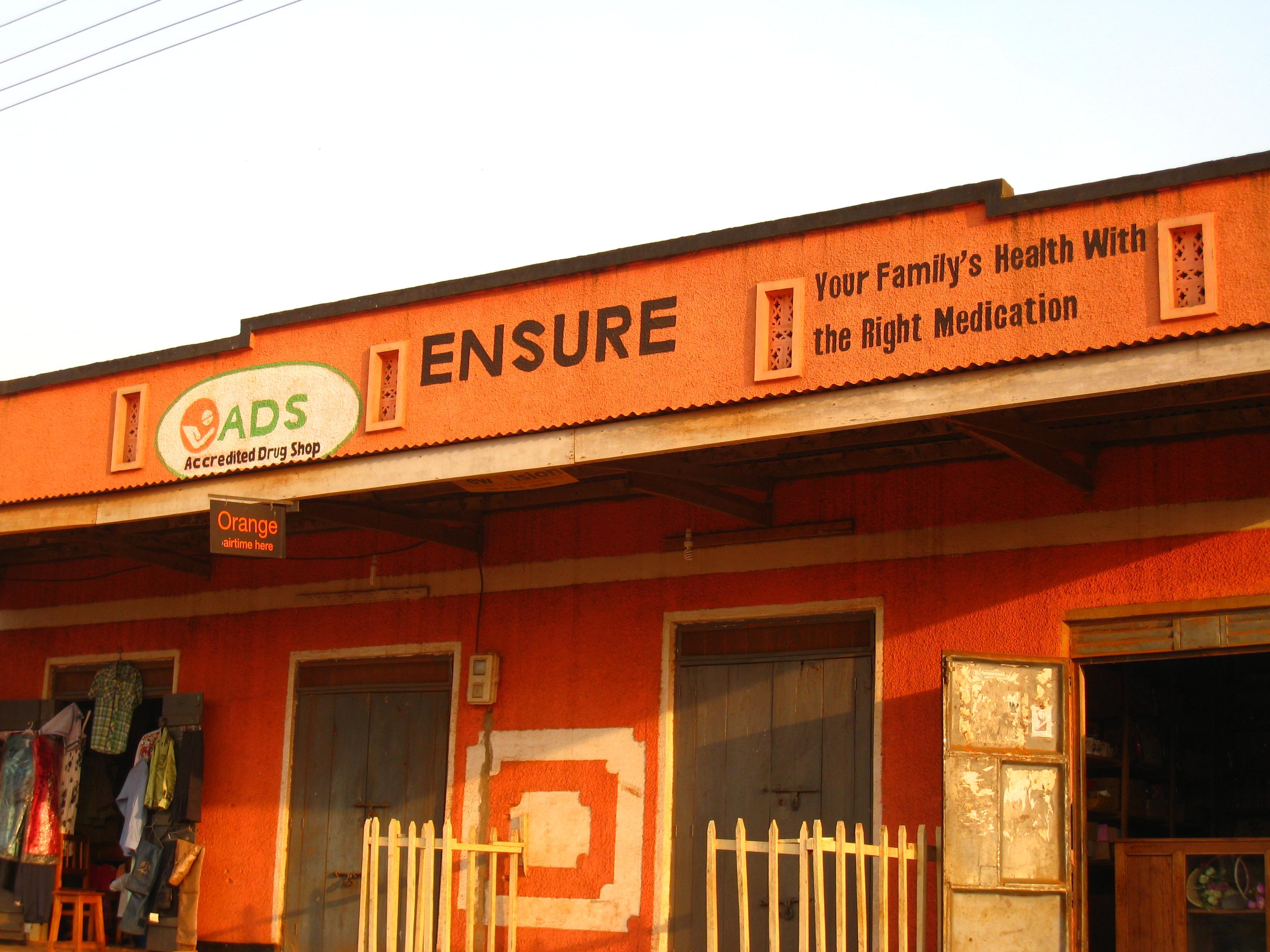 A franchised medicine shop