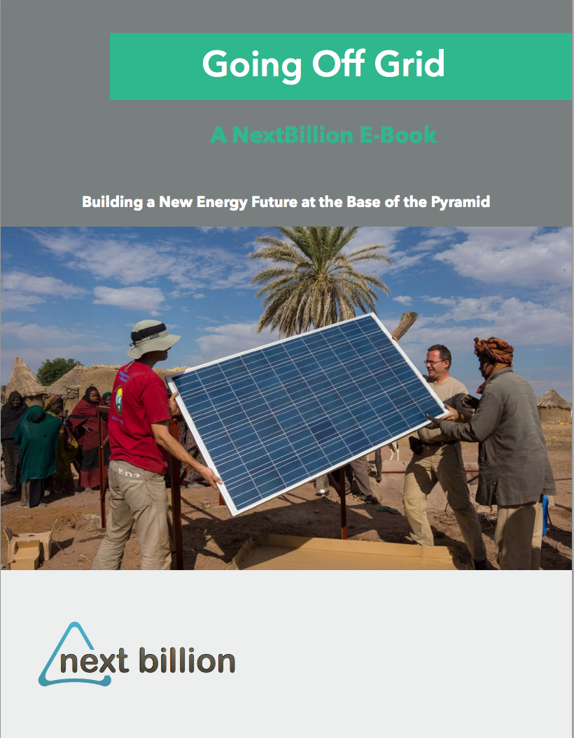 Our Newest E-Book, 'Going Off Grid': Leaders building a grid-free future with limitless potential