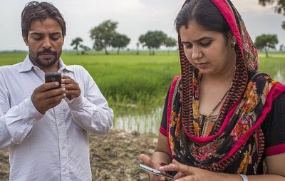 5. Plant Village - Farmers in India use their phones