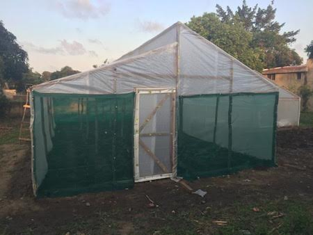6. Modular greenhouse