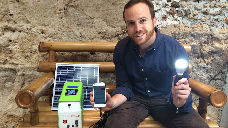 Juan Fermín Rodríguez, CEO and co-founder of Agora-supported solar energy provider Kingo, on NextBillion.net.