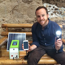 Juan Fermín Rodríguez, CEO and co-founder of Agora-supported solar energy provider Kingo, on NextBillion.net.