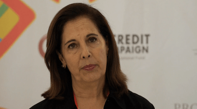 'Independence from Credit': Pro Mujer co-founder Carmen Velasco discusses self-help groups, and how much profit is too much in microfinance