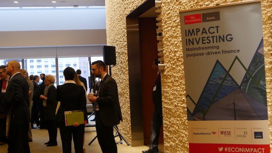 Mainstreaming Impact Investing: 12 Takeaways from 'The Economist' Event, on NextBillion.net