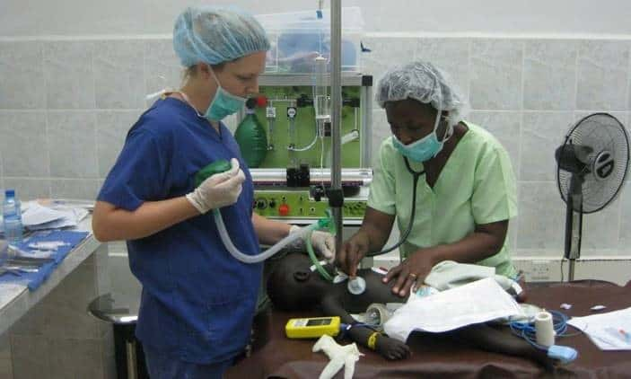 Portable, Reliable and Safe: Billions Need Anesthesia – Only Partnerships Can Deliver It
