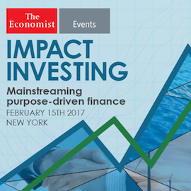 Join 'The Economist' in a Discussion About the Future of Impact Investing