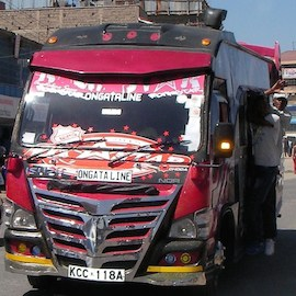 Harnessing Mobile Technologies to Make Matatus, and Kenya, Safer