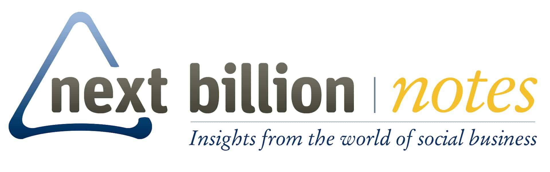NB Notes Newsletter logo, on NextBillion.net