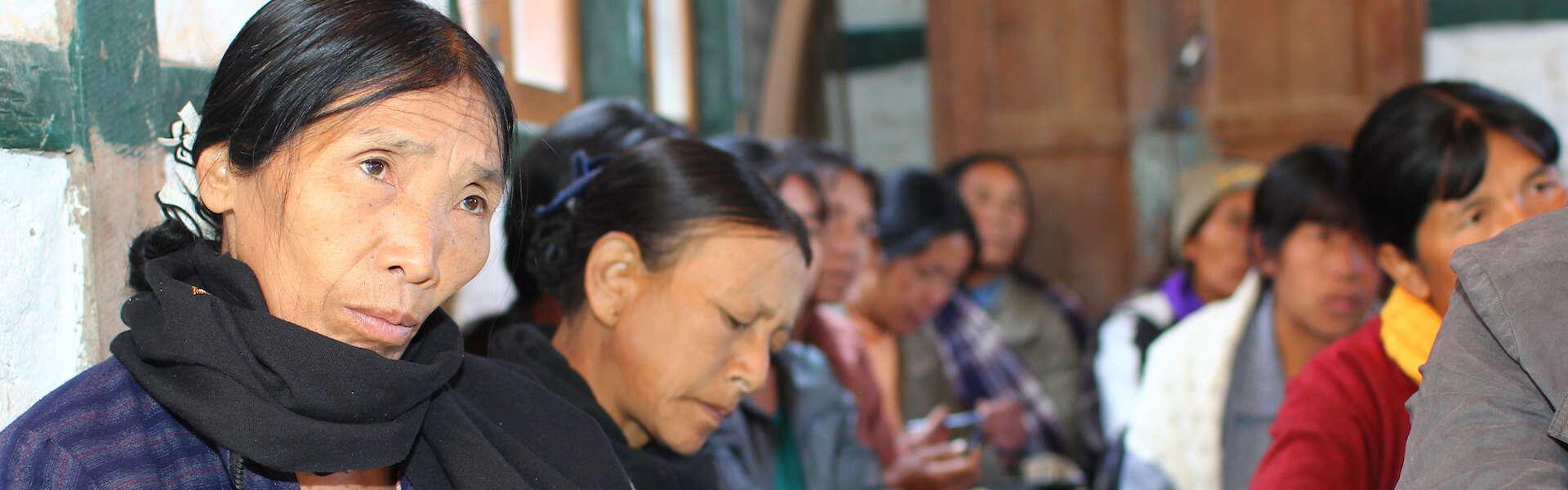 Women microfinance clients