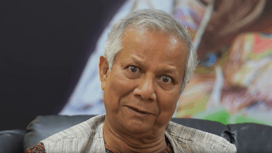Muhammad Yunus, in an interview with NextBillion.