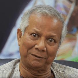 Muhammad Yunus, in an interview with NextBillion