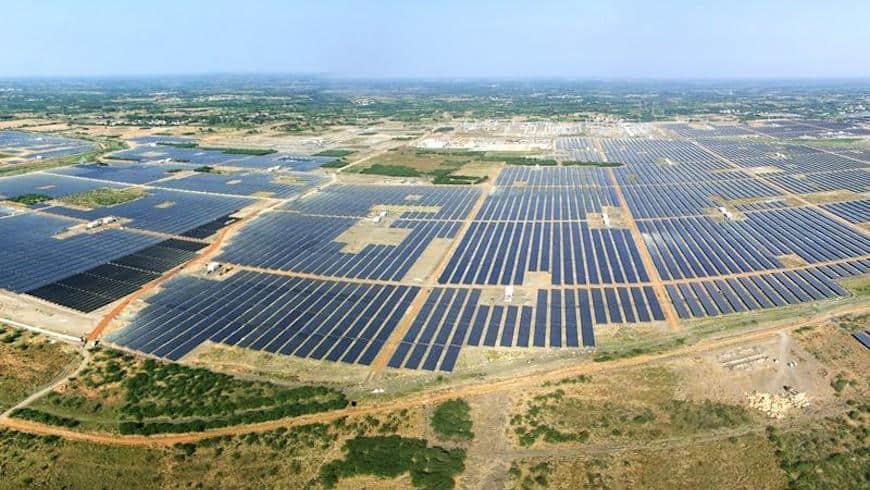 Kamuthi Solar Park India